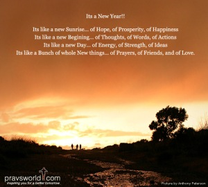 Happy New Year…all the best for chasing your dreams….